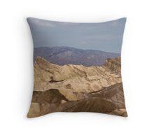 Manley Beacon - Death Valley, California Throw Pillow