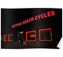 Daytona Cycles Poster