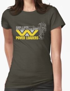 Weyland Yutani Power Loaders Womens Fitted T-Shirt