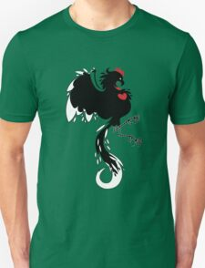 Love Cock Black Unisex T-Shirt