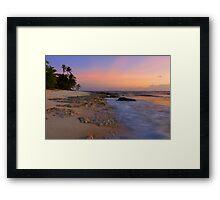Sunset Moods Framed Print