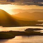 • Surise Overlooking Cahersiveen, Co. Kerry, Ireland by Madeleine  Weber
