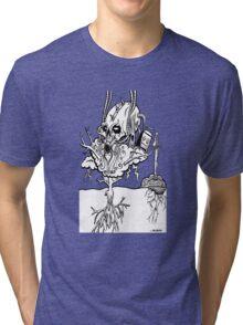 DEVILS IN THE BATHROOM Tri-blend T-Shirt