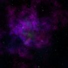 Purple Nebula by Lauren Finn
