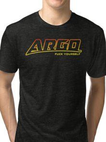 Argo F U (explicit) Tri-blend T-Shirt