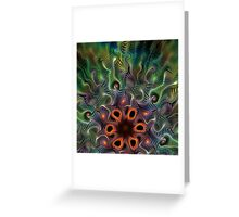 The Last Wildflower Greeting Card