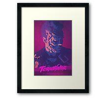 Exterimation - Terminator Poster Framed Print