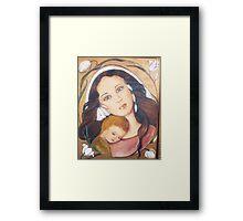 maternità Framed Print