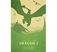 Brotherhood - How to Train Your Dragon 2 Photographic Print