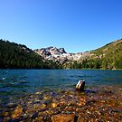 Sierra Buttes from Sardine Lake by flyfish70