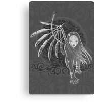 Mechanical angel - 2012 Edition Canvas Print