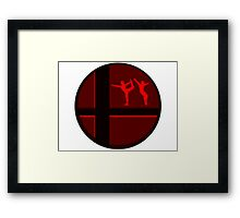 Smash Bros. Wii Fit Trainer Framed Print