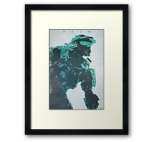 The Master - Halo Framed Print