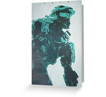 The Master - Halo Greeting Card