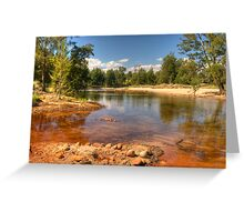 Shallow Water Greeting Card