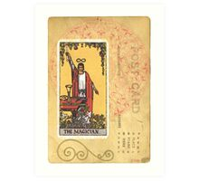 The Magician Tarot Card Art Print