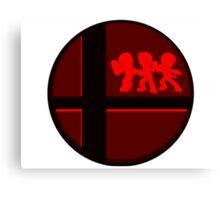 Smash Bros. Mii Fighter Canvas Print