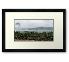 The Mists of Time Framed Print