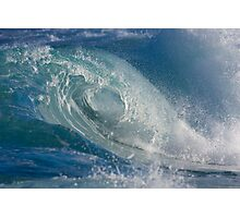Wave curl Photographic Print