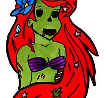 Disney's Undead Little Mermaid by Aphina