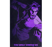 Big Bad Bigby - The Wolf Among Us Photographic Print
