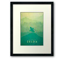 Warrior - The Legend of Zelda Framed Print
