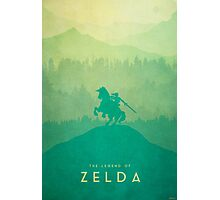 Warrior - The Legend of Zelda Photographic Print