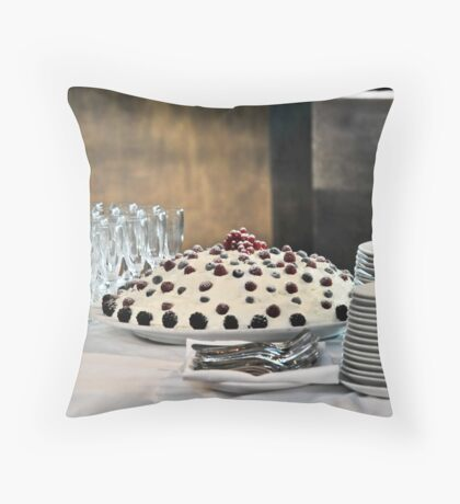 The Cake Throw Pillow