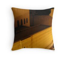 Dusk lines Throw Pillow