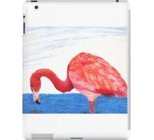 Fishing Pink Flamingo iPad Case/Skin