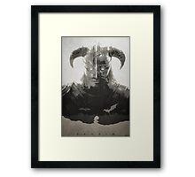 Dragonborn - Skyrim Framed Print