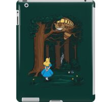 My Neighbor in Wonderland (Dark Green) iPad Case/Skin