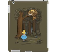 My Neighbor in Wonderland (Army) iPad Case/Skin