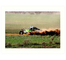 Mannum Off Road Racing Enduro Art Print