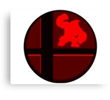 Smash Bros. Donkey Kong Canvas Print