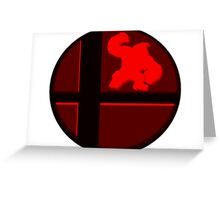 Smash Bros. Donkey Kong Greeting Card