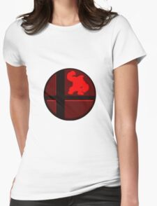 Smash Bros. Donkey Kong Womens Fitted T-Shirt