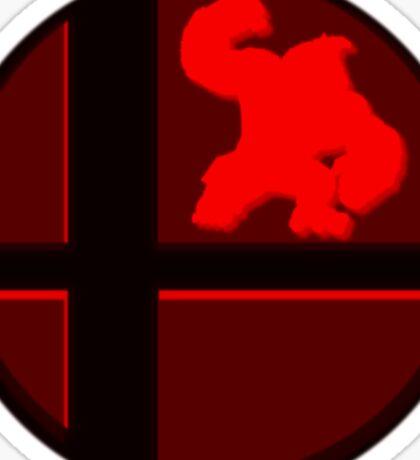 Smash Bros. Donkey Kong Sticker