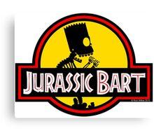 Jurassic Bart Canvas Print