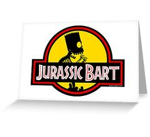 Jurassic Bart Greeting Card