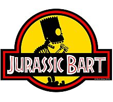 Jurassic Bart Photographic Print