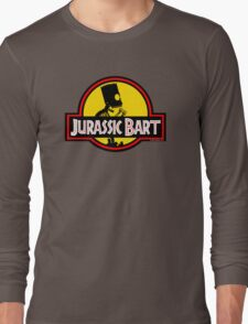 Jurassic Bart Long Sleeve T-Shirt