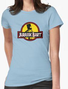 Jurassic Bart Womens Fitted T-Shirt