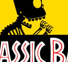 Jurassic Bart Sticker