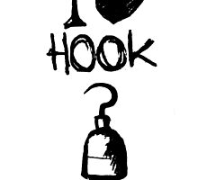 OUAT - I heart Hook by MagpieMildred