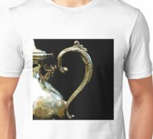 Silver Tea Pot Handle - Digital Oil Art Work Unisex T-Shirt
