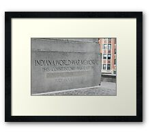 Cornerstone Framed Print