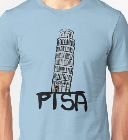 Pisa tower Unisex T-Shirt