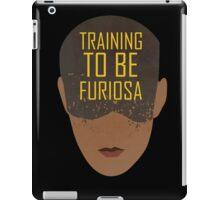 Training To Be Furiosa  iPad Case/Skin