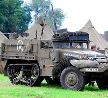 U S Halftrack by Tony Dewey